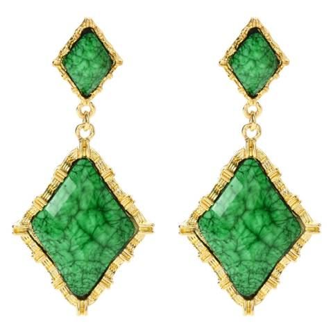 Amrita Singh Gold Evergreen Wainscott Earrings