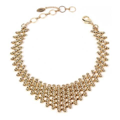 Amrita Singh Gold Chain Link Choker/Collar