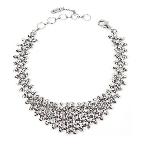 Amrita Singh Silver Chain Link Choker/Collar