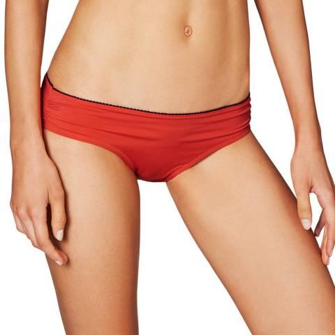 Heidi Klum Swim Red Catalina Kisses Classic Bikini Briefs