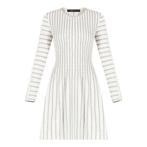 BCBG Black/Ivory Knit City Dress