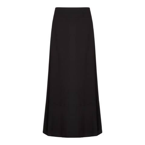 BCBG Black Essential Maxi Skirt