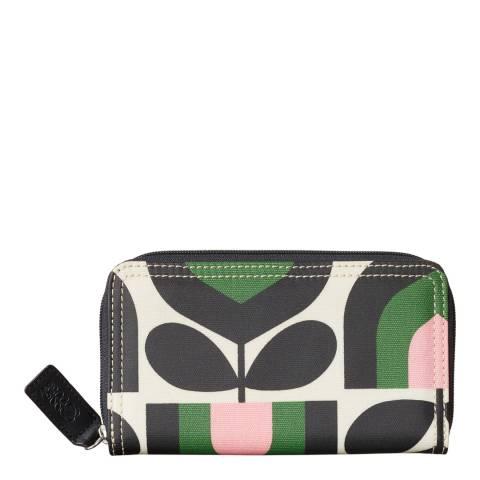 5549dd1b977fa Multicoloured Tulip Stripe Big Zip Wallet - BrandAlley
