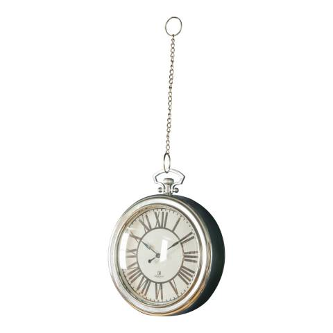 Gallery Chrome Oxford Clock