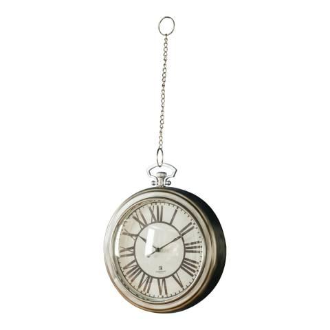 Gallery Nickel Oxford Clock