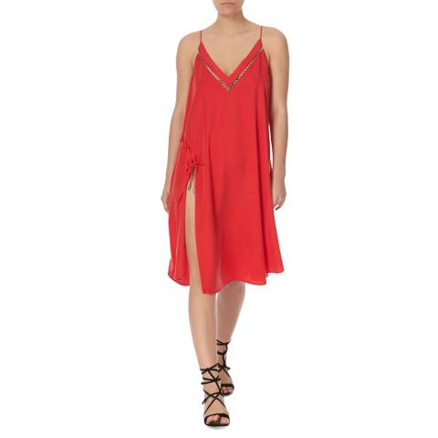 Free People Red All I Want Maxi Tank