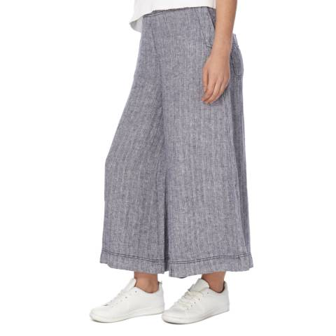 Free People Blue Sani Culottes