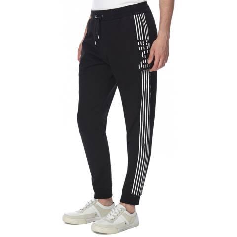 McQ by Alexander McQueen Men's Black Six Stripe Sweatpants