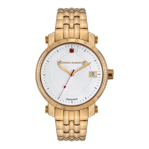 Chrono Diamond Women's Swiss Gold Nesta Watch