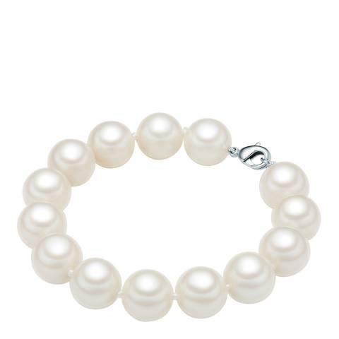Perldesse White Pearl Bracelet