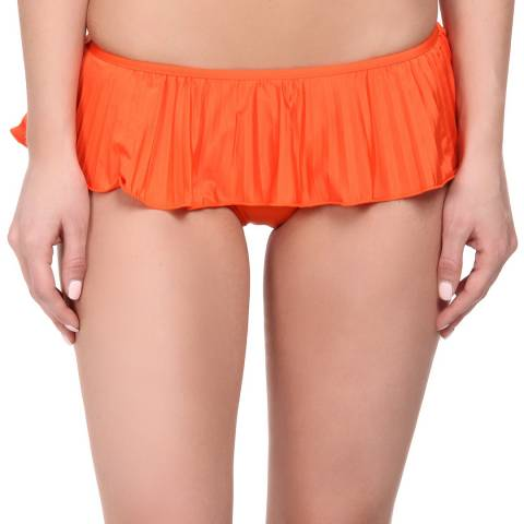 Seafolly Orange Skirted Hipster Bikini Briefs