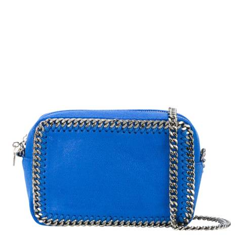 Stella McCartney Bright Blue Falabella Box Cross Body Bag