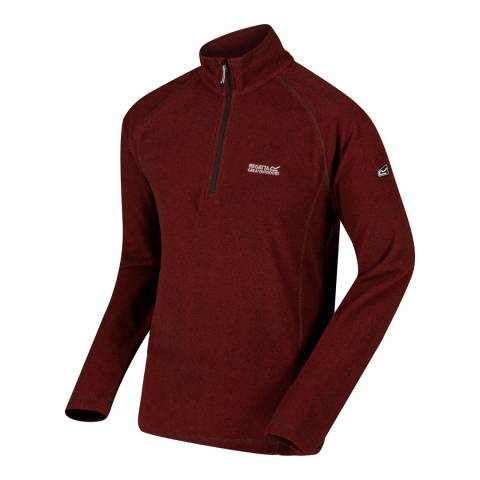 Regatta Red Montes Lightweight Fleece Jumper
