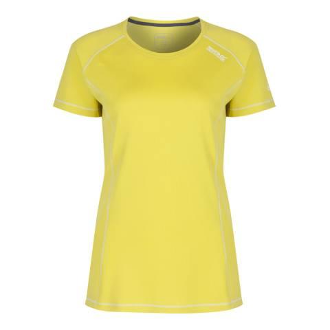 Regatta Yellow Lightweight Virda T-Shirt