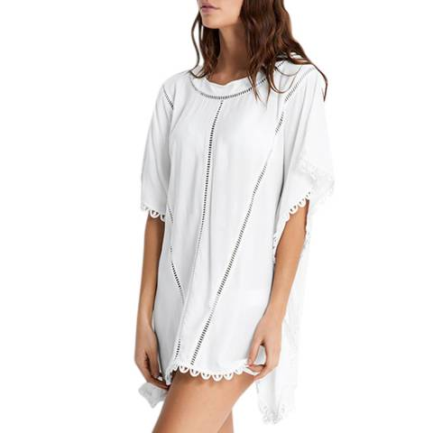 Seafolly Milk Ladder Tape Kaftan