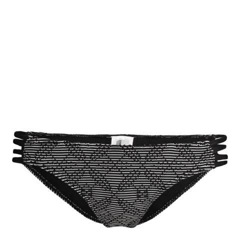 O'Neill Black/White Structure Regular Bikini Briefs