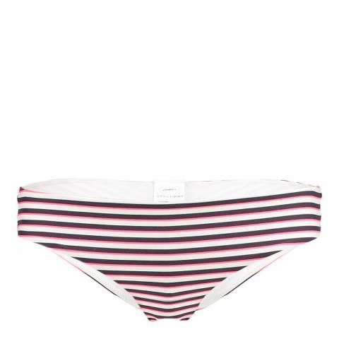 O'Neill Pink/White Festival Bikini Briefs