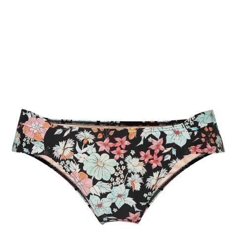 O'Neill Black Floral Tabside Bikini Briefs