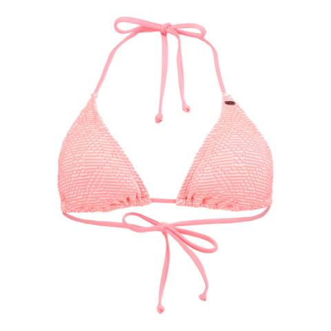 O'Neill Peach Pink Halterneck Bikini Top