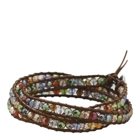 Alexa by Liv Oliver Multi Crystal Wrap Bracelet
