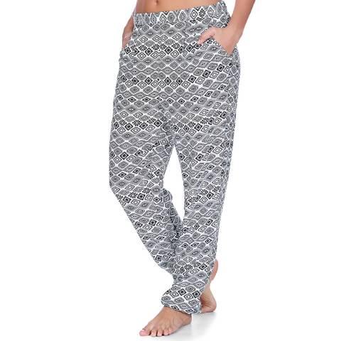 Freya Black/White Frenzy Beach Trousers