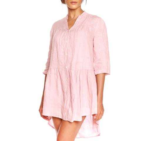 100% Linen Rose Julie Tunic