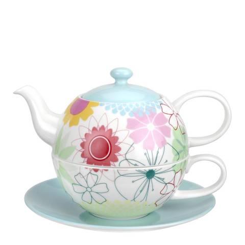 Portmeirion Crazy Daisy Tea for 1 with Saucer