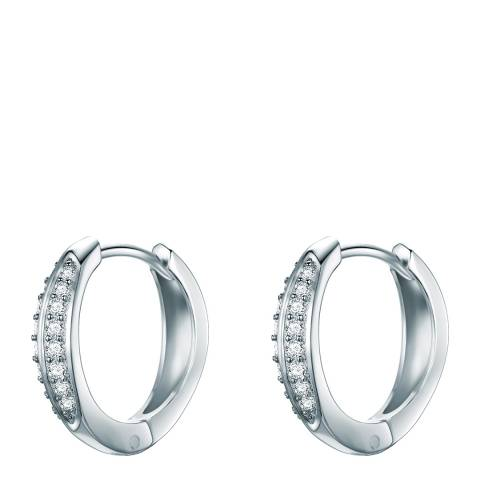Carat 1934 Silver Hoop Earrings