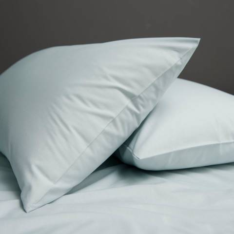 The White Room Pair of Duckegg St Maxime Pillowcases