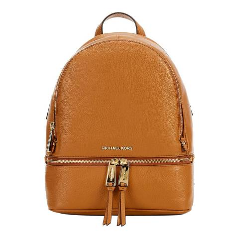 Michael Kors Acorn Rhea Medium Leather Backpack