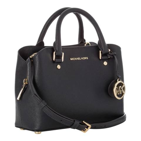 Michael Kors Navy Savannah Small Leather Handbag