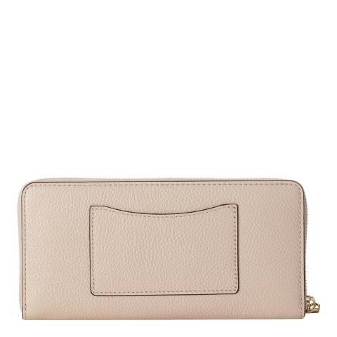 a65faf0acc62 Soft Pink Mercer Leather Continental Zip Around Wallet - BrandAlley
