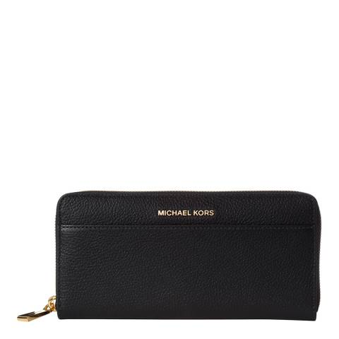 Michael Kors Navy Mercer Leather Continental Wallet