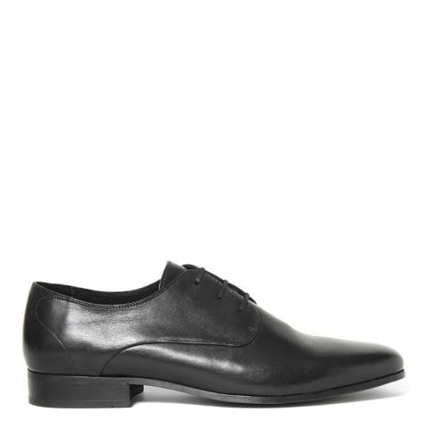 Hudson Black Leather Hadstone Shoes