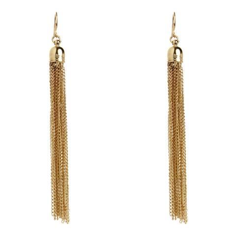 Amrita Singh Gold Gilded Tassel Earrings