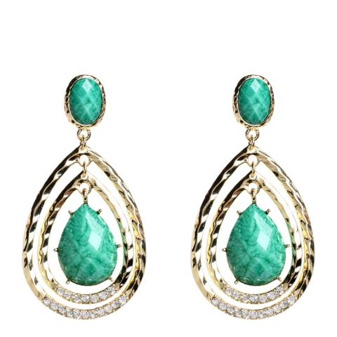 Amrita Singh Turquoise Catriona Earrings