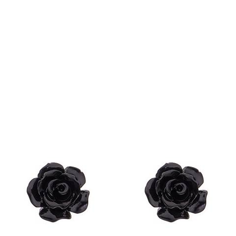 Wish List Black Rose Earrings