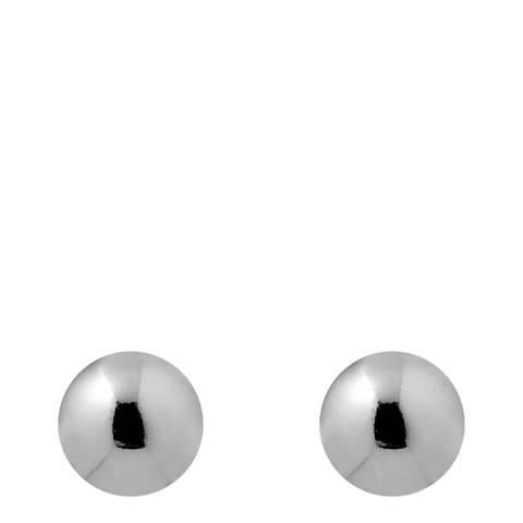 Wish List Silver Stud Earrings