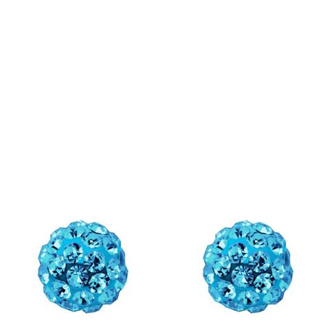 Wish List Blue Crystal Earrings