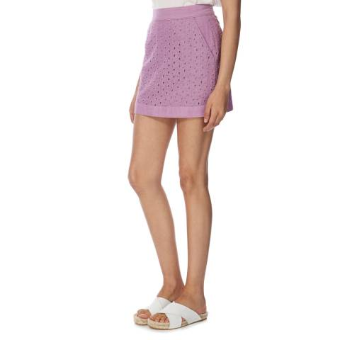 Jack Wills Purple Cotton Edale Skirt