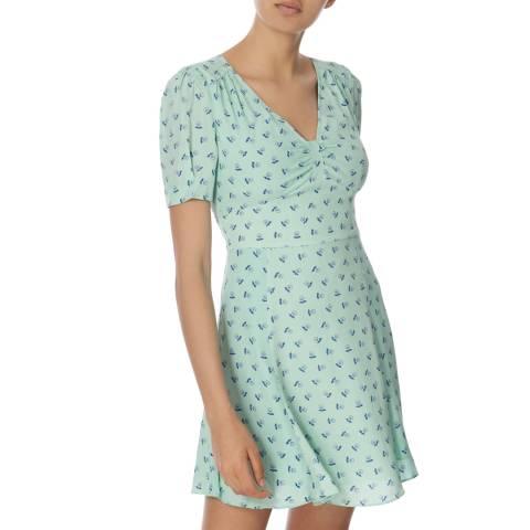 Jack Wills Green Ditsy Papworth Skirt