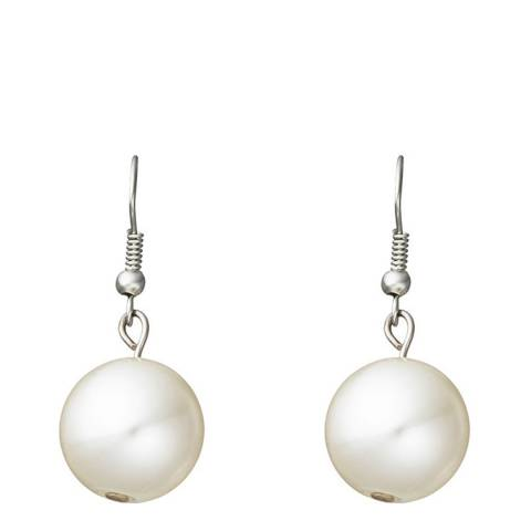 White label by Liv Oliver Silver and White Pearl Earrings