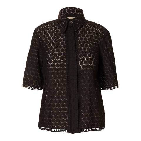 Orla Kiely Black Lace Shirt