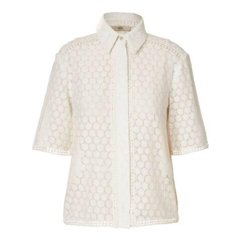 Orla Kiely White Lace Shirt