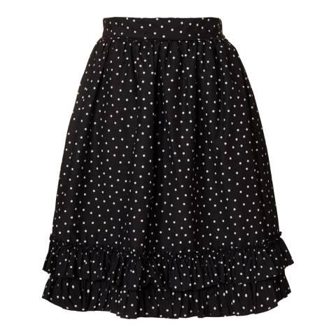 Orla Kiely Black/White Ditsy Dot Skirt