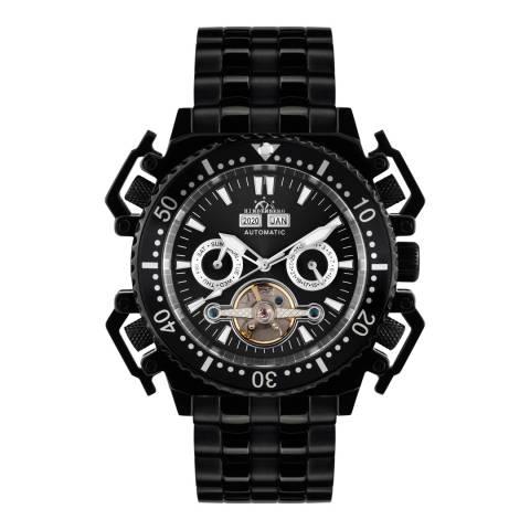 Hindenberg Men's Challenge II Black Stainless Steel Watch