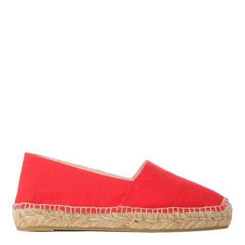 Castaner Red Canvas Kim Espadrilles