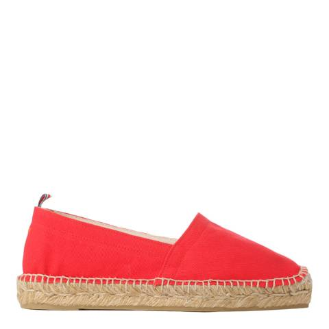 Castaner Red Canvas Pablito Espadrilles
