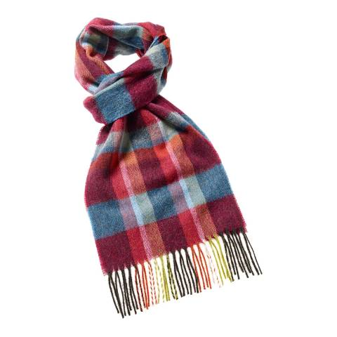 Bronte by Moon Red Fountains Dales Scarf