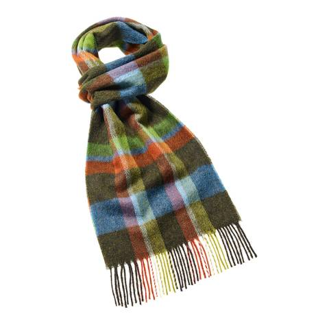 Bronte by Moon Olive Green Fountains Dales Scarf